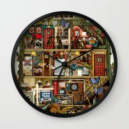 Bug House Wall Clock