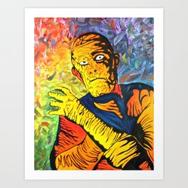 The mummy Art Print