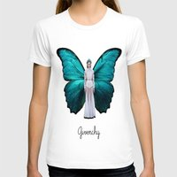 givenchy T-shirts featuring Papilio Givenchy Unframed by GirlAnnachronism