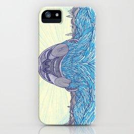 Ocean Face iPhone Case