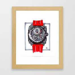 Manufacture Royale Androgyne Live Painting Framed Art Print