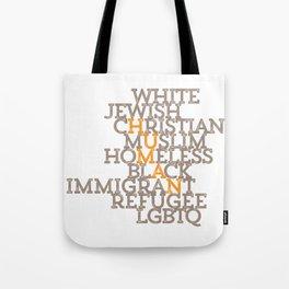 Just Human Tote Bag