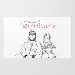 The Royal Tenenbaums (Richie and Margot) Rug