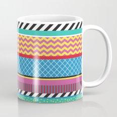Colorful Washi Tape Graphic Mug