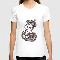 garfield T-shirts featuring 37. Garfield in Henna Pumpkin @ Halloween  by Hennaart yume by kat