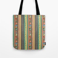 stripes Tote Bags featuring Stripes by Catru