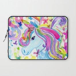 Mystical Rainbow Unicorn Laptop Sleeve