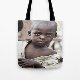African Boy Tote Bag