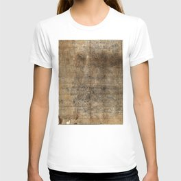 Map of Mount Wutai (1846) Wutaishan sheng jing quan tu T-shirt