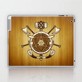 d20 Viking Warrior Laptop & iPad Skin