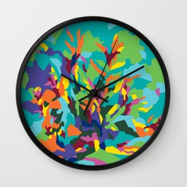 Tropic Paradise Wall Clock