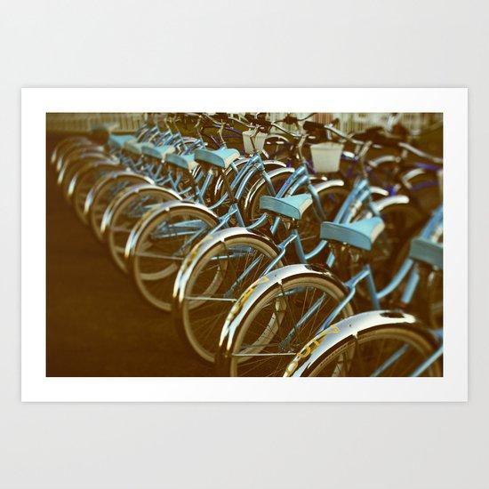 Cycle #3 Art Print