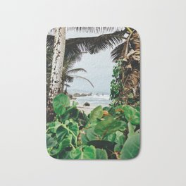 The surfer's spot in Barbados Bath Mat