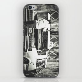 Deep Taxi Thinking  iPhone Skin