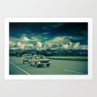 alaska Art Prints featuring Alaska by Paweł Kotas