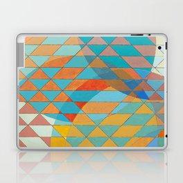 Triangle Pattern No. 11 Circles Laptop & iPad Skin
