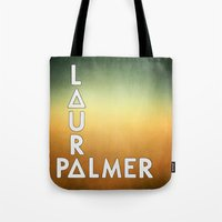 bastille Tote Bags featuring Bastille - Laura Palmer #2 by Thafrayer