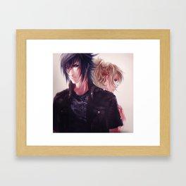 NoctisxLuna Framed Art Print