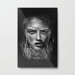 Cara Delevingne Metal Print