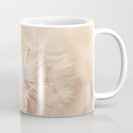 Pink Dandelion Flower - Floral Nature Photography Art and Accessories Coffee Mug