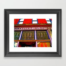 Saint Elmo's Framed Art Print
