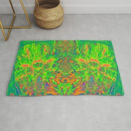 Extraterrestrial Palace 7(Ultraviolet) Rug