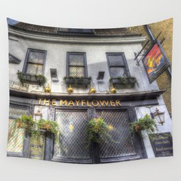 The Mayflower Pub London Wall Tapestry