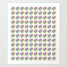 Stars 3- sky,light,rays,pointed,hope,estrella,mystical,spangled,gentle. Art Print