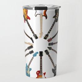 Guitar Circle Travel Mug