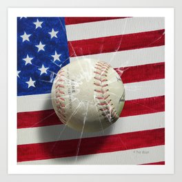 Baseball - New York, New York Art Print