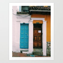 Door Vibes Art Print
