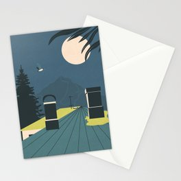 Over the Roofs Stationery Cards