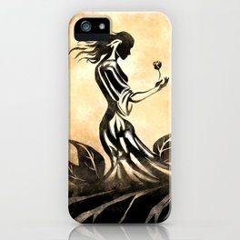 Woman in Gown iPhone Case