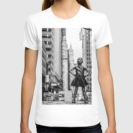 Fearless Girl New York City T-shirt