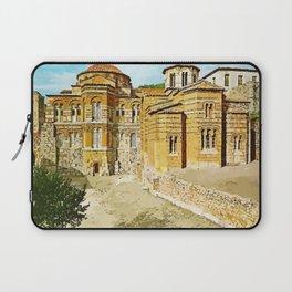 Hosios Loukas monastery Distomo Greece Laptop Sleeve