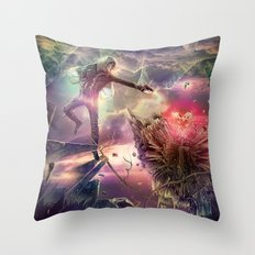 The Heart of Darkness Throw Pillow