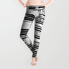 Hidden Horoscopes Leggings