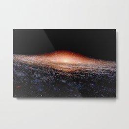 Milky Way Deep Space Telescopic Photograph Metal Print