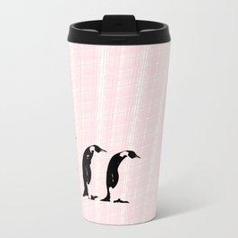 Penguins March Metal Travel Mug