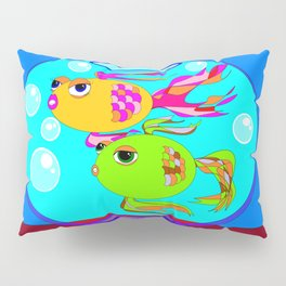 Two Fish in a Fish Bowl Pillow Sham