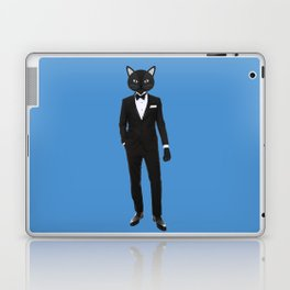 Gentleman Cat in Tuxedo suit Laptop & iPad Skin