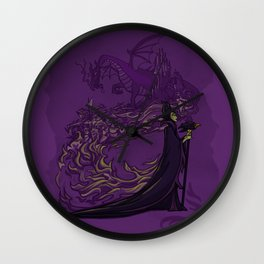 Something Wicked this way Comes... Wall Clock