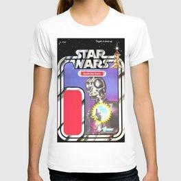 Death Star Droid Vintage Action Figure Card T-shirt