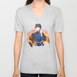 the flame colonel Unisex V-Neck