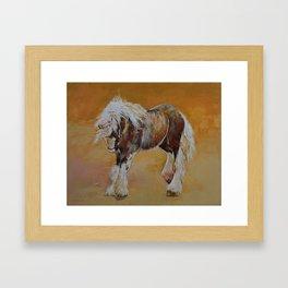 Gypsy Pony Framed Art Print