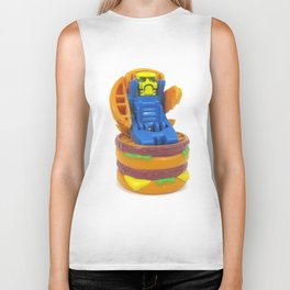 Big Burger Robot Biker Tank