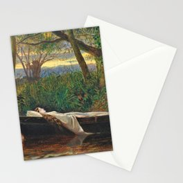 The Lady Of Shalott - Walter Crane Stationery Cards