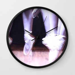 Pirouette Wall Clock