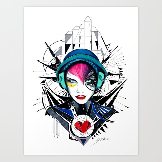 -War in my Heart- Art Print