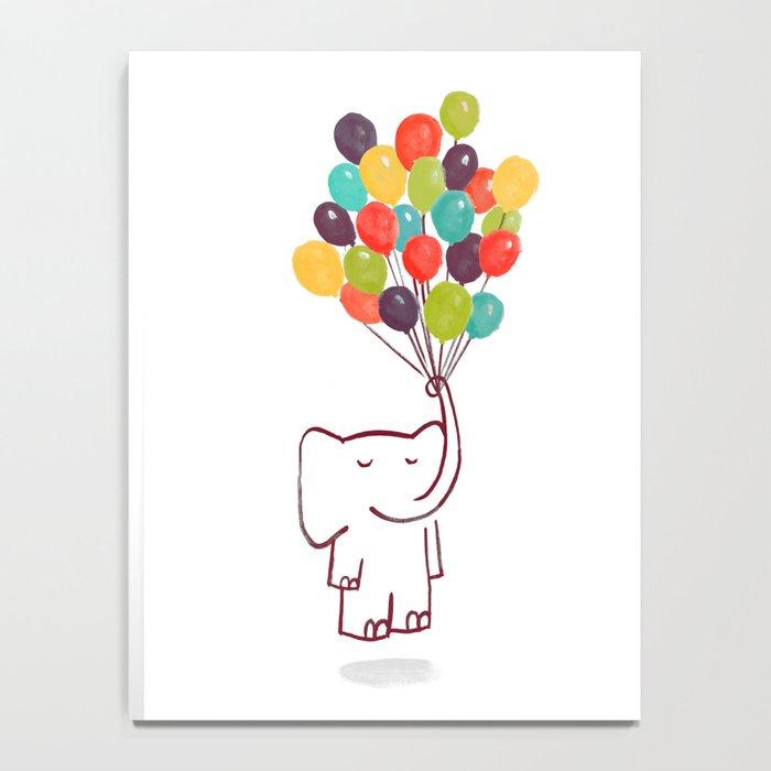 Flying Elephant Notebook